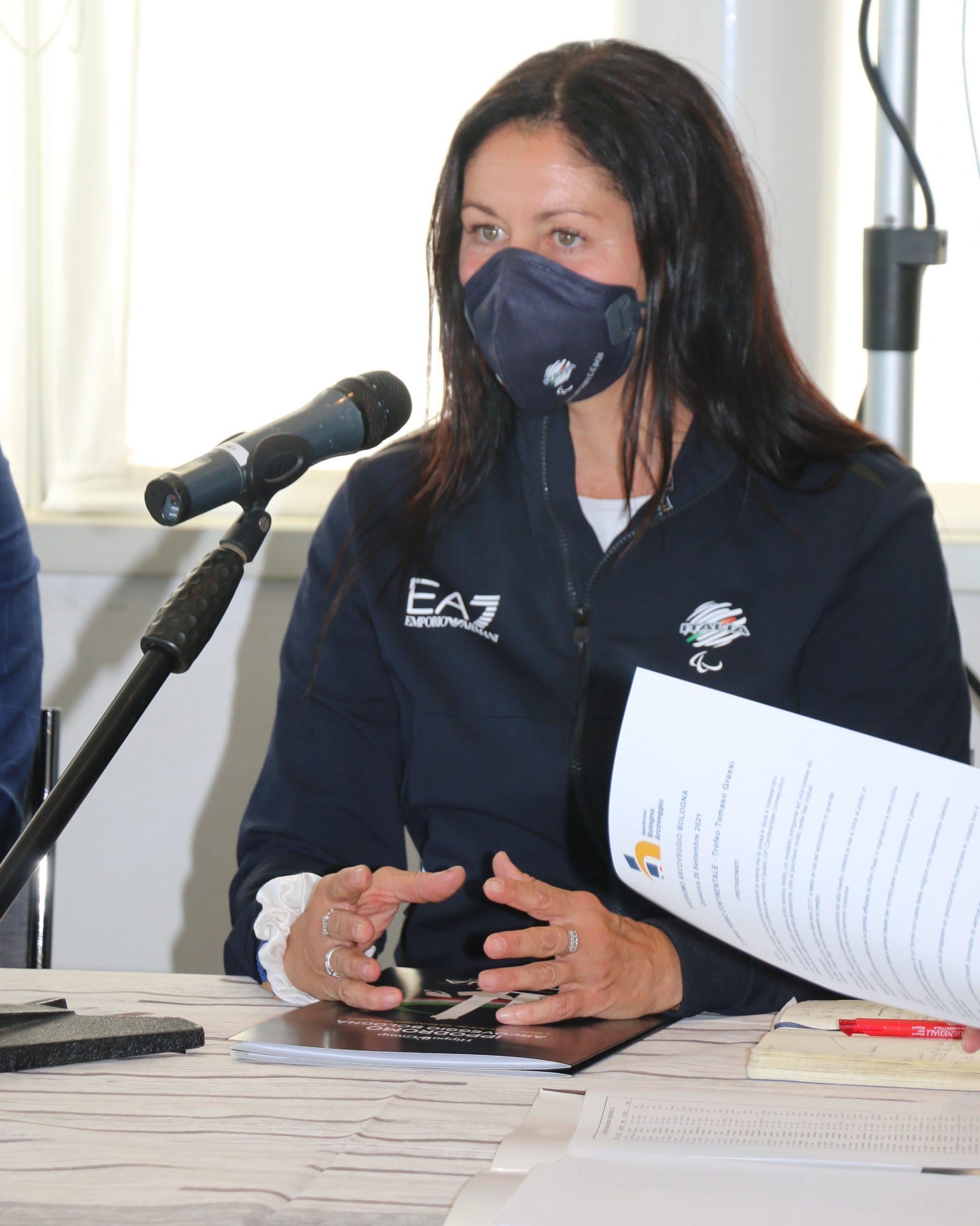 CHIARA NARDO, finalista ai Giochi Paralimpici di Tokyo, Ospite d'Onore al Gran Premio Continentale 2021